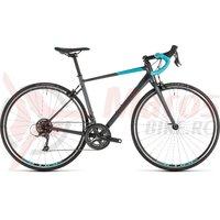 Bicicleta Cube Axial WS Iridium/Aqua 2019