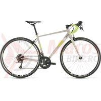 Bicicleta Cube Axial WS lightgrey/green 2020