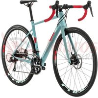 Bicicleta Cube Axial WS Pro Greyblue/Coral 2020