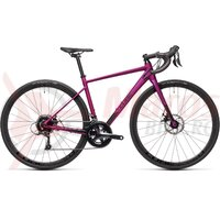 Bicicleta Cube Axial WS Pro Purple/Black 2021