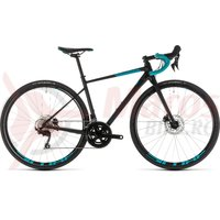 Bicicleta Cube Axial WS Race Disc Black/Darkmint 2019