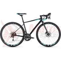 Bicicleta Cube Axial WS Race Disc iridium/mint 2018