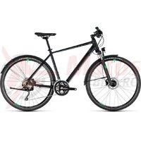 Bicicleta Cube Cross Allroad black/green 2018