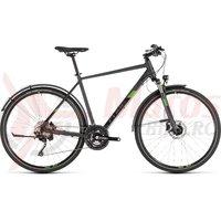 Bicicleta Cube Cross Allroad Iridium/Green 2019