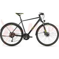 Bicicleta Cube Cross Allroad Iridium/Green 2020