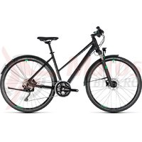 Bicicleta Cube Cross Allroad Trapeze black/green 2018
