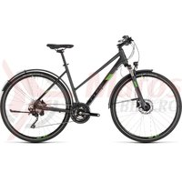 Bicicleta Cube Cross Allroad Trapeze Iridium/Green 2019