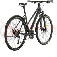 Bicicleta Cube Cross Allroad Trapeze Iridium/Green 2020