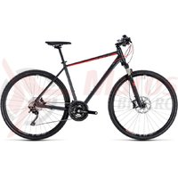 Bicicleta Cube Cross EXC iridium/red 2018
