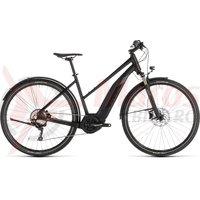 Bicicleta Cube Cross Hybrid Exc 500 Allroad Trapeze Black/Grey 2019
