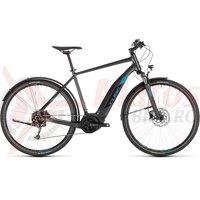 Bicicleta Cube Cross Hybrid One 400 Allroad Iridium/Blue 2019