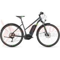 Bicicleta Cube Cross Hybrid Pro 400 Allroad Trapeze Iridium/Green 2019