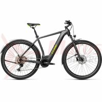 Bicicleta Cube Cross Hybrid Pro 500 Allroad Iridium/Green 2021