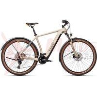 Bicicleta Cube Cross Hybrid Pro 625 Allroad Desert/Orange 2021