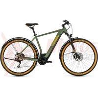 Bicicleta Cube Cross Hybrid Pro 625 Allroad green/orange 2020