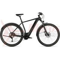 Bicicleta Cube Cross Hybrid Pro 625 Allroad iridium/black 2020