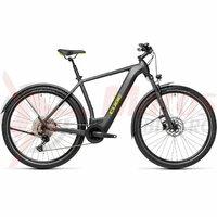 Bicicleta Cube Cross Hybrid Pro 625 Allroad Iridium/Green 2021