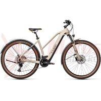 Bicicleta Cube Cross Hybrid Pro 625 Allroad Trapeze Desert/Orange 2021