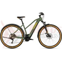 Bicicleta Cube Cross Hybrid Pro 625 Allroad Trapeze green/orange 2020