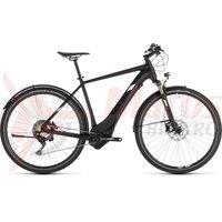Bicicleta Cube Cross Hybrid Race 500 Allroad Black/White 2019