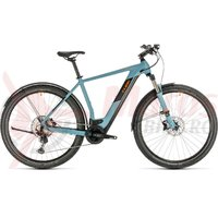Bicicleta Cube Cross Hybrid Race 500 Allroad blue/orange 2020