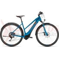 Bicicleta Cube Cross Hybrid Race 500 Allroad Trapeze Blue/Orange 2019