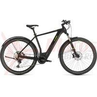 Bicicleta Cube cross Hybrid Race 625 Allroad black/green 2020