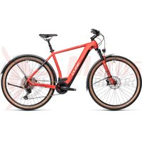Bicicleta Cube Cross Hybrid Race 625 Allroad Red/Grey 2021