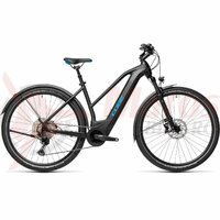 Bicicleta Cube Cross Hybrid Race 625 Allroad Trapeze Black/Blue 2021