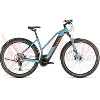 Bicicleta Cube cross Hybrid Race 625 Allroad Trapeze blue/orange 2020