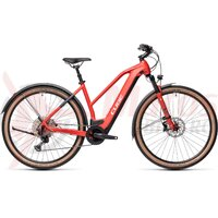 Bicicleta Cube Cross Hybrid Race 625 Allroad Trapeze Red/Grey 2021