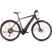Bicicleta Cube Cross Hybrid SL 500 Allroad Iridium/Black 2019