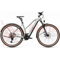 Bicicleta Cube Cross Hybrid SL 625 Allroad Trapeze Lunar/Grey 2021