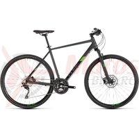 Bicicleta Cube Cross Pro Iridium/Green 2019