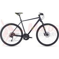 Bicicleta Cube Cross Pro Iridium/Green 2020