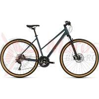 Bicicleta Cube Cross Pro Trapeze Blue/Red 2020