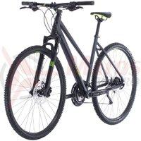Bicicleta Cube Cross Pro Trapeze Iridium/Green 2020