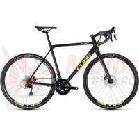 Bicicleta Cube Cross Race black/flashyellow 2018