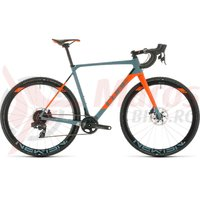 Bicicleta Cube Cross Race C:62 SLT bluegrey/orange 2020