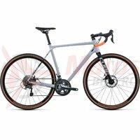 Bicicleta Cube Cross Race Grey Orange 2022