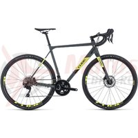 Bicicleta Cube Cross Race Pro Grey/Flashyellow 2020