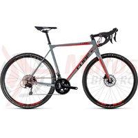 Bicicleta Cube Cross Race Pro grey/red 2018
