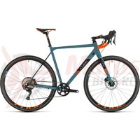 Bicicleta Cube Cross Race SL Bluegrey/Orange 2020