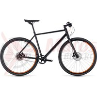 Bicicleta Cube Editor black/orange 2018
