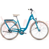 Bicicleta Cube Ella Cruise Easy Entry Aquamarine Black 2022