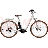 Bicicleta Cube Ella Cruise Hybrid 400 Cream/Orange 2021