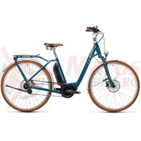 Bicicleta Cube Ella Cruise Hybrid 400 Easy Entry  Petrol/Grey 2021