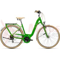 Bicicleta Cube Ella Ride Easy Entry Applegreen/White 28' 2021