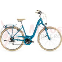 Bicicleta Cube Ella Ride Easy Entry Blue/Cream 2019