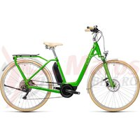 Bicicleta Cube Ella Ride Hybrid 400 Easy Entry Applegreen/White 2021